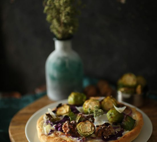 Red-Cabbage-Pizza-with-roasted-brussel-sprouts