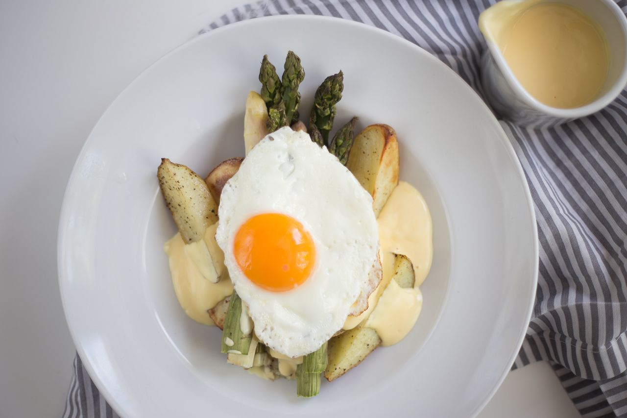 Ofenspargel-Hollandaise