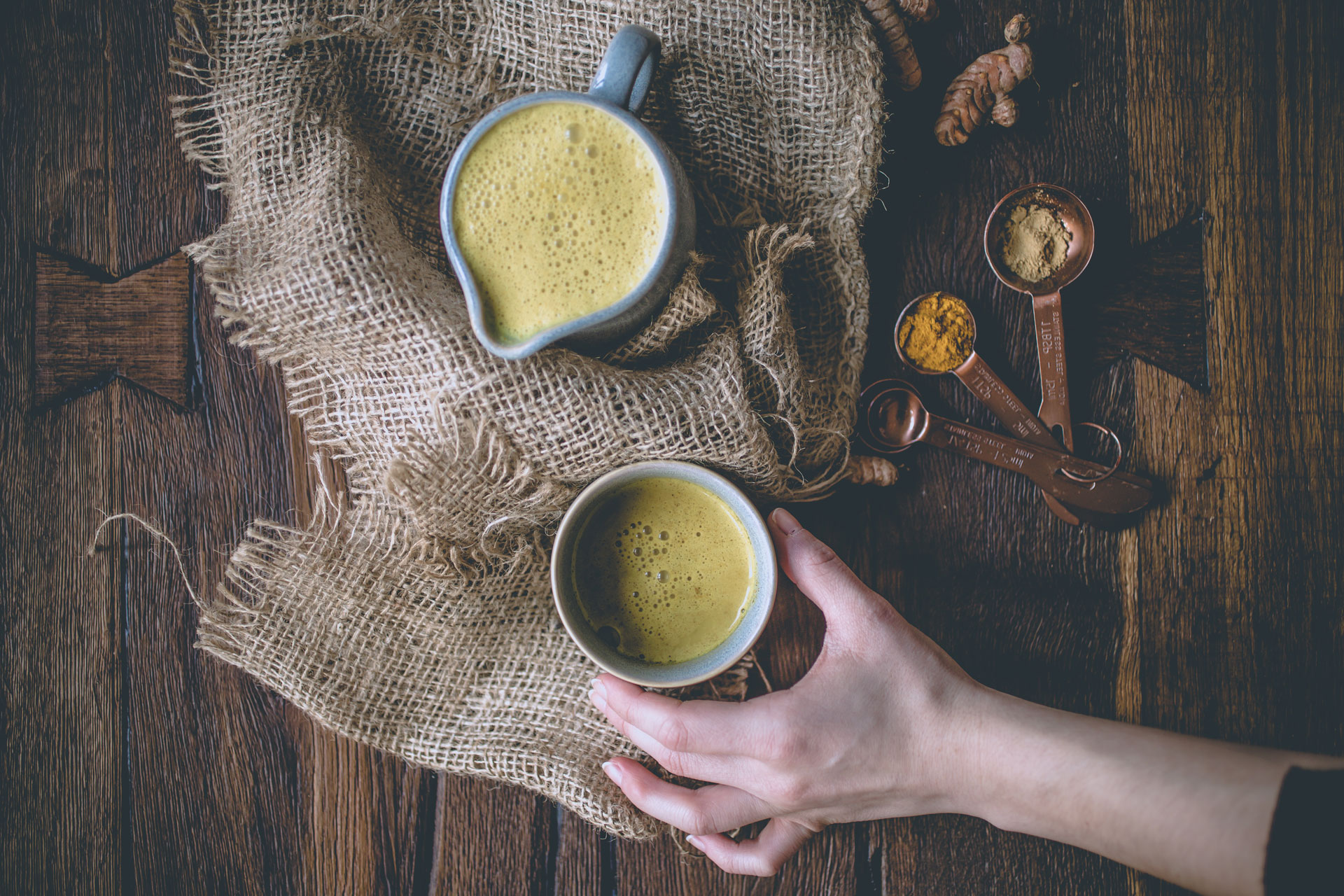 Golden Milk Turmeric Latte